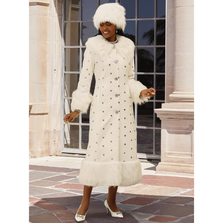 Winter Wonderland Coat & Hat by LUXE