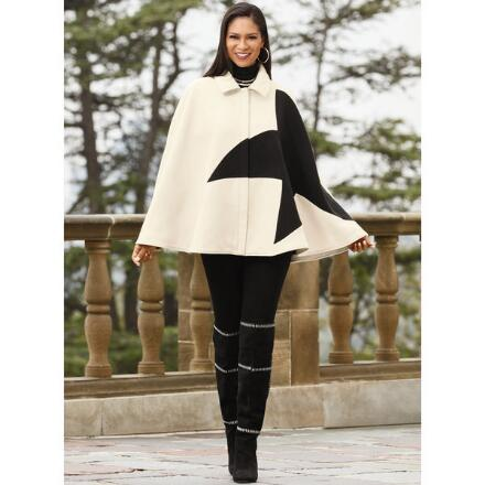 Feel Like a Star Cape by LUXE