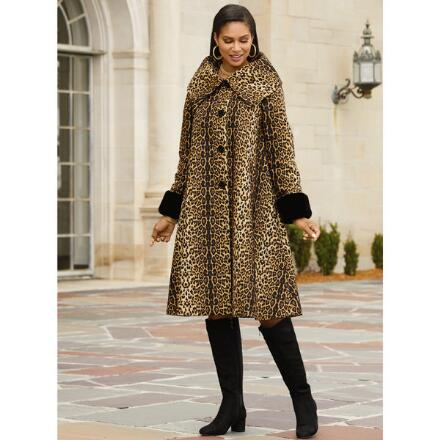 Wild About Elegance Coat by Studio EY