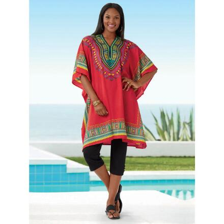 Microfiber Tunic Caftan X by Studio EY