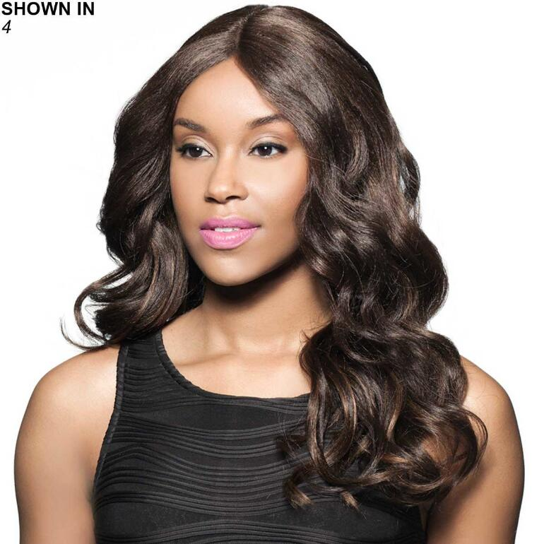 Davita Human Hair Blend Lace Front Wig by Foxy Lady™
