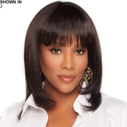 H202-V Human Hair Wig by Vivica Fox