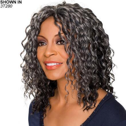 Glenda Monofilament Half Wig by Foxy Silver®