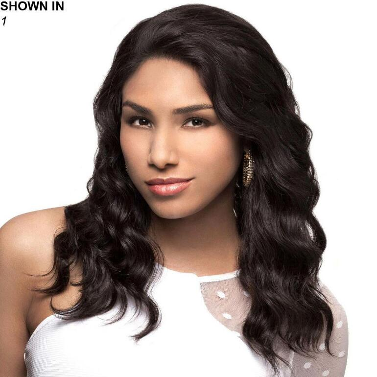 Marina Human Hair Lace Front Wig by Carefree™