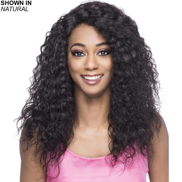 Milano Hand-Tied Remy Human Hair Lace Front Wig by Vivica Fox