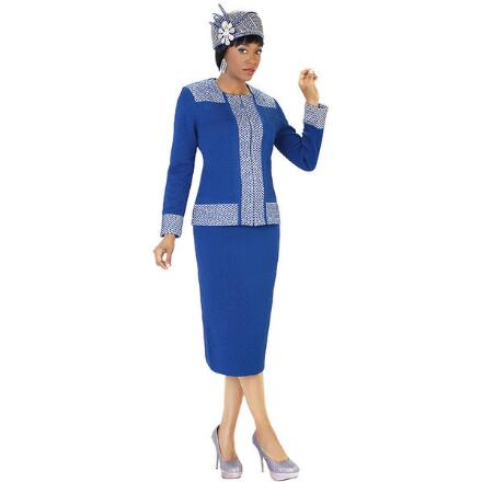 Duchess Knit 2-Pc. Suit by Tally Taylor