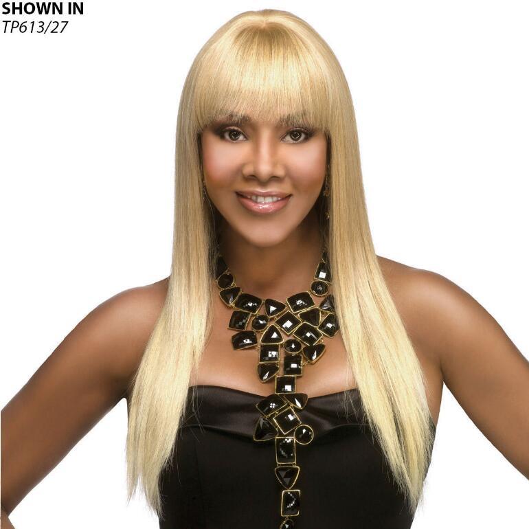 H-157 Human Hair Wig by Vivica Fox