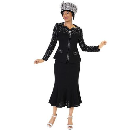 Countess Knit 2-Pc. Suit by Tally Taylor