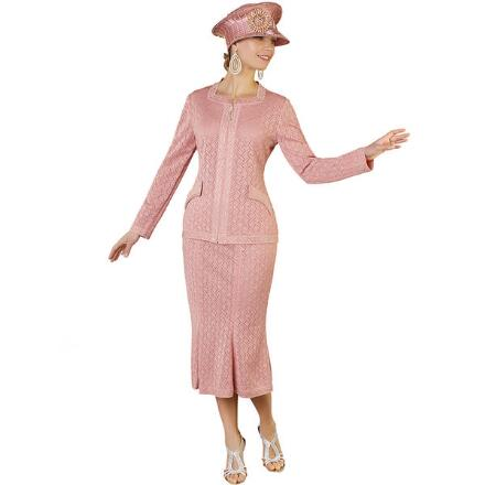Belmont Knit 2-Pc. Suit by Tally Taylor
