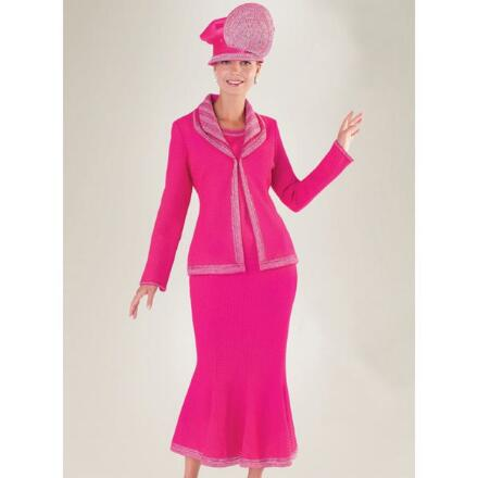 Baroness Knit 3-Pc. Suit by Tally Taylor