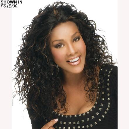 Queenie Lace Front Human Hair Wig by Vivica Fox