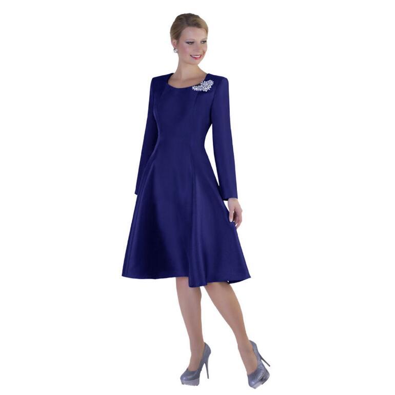 Rhinestone Brooch Dress by Tally Taylor