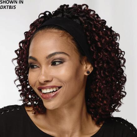 Color Closeout Curly Headband Hair Piece by Especially Yours®
