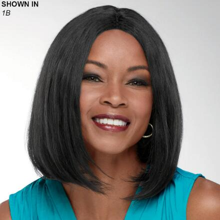 Camilla Human Hair Wet 'n' Wavy Wig by Especially Yours®
