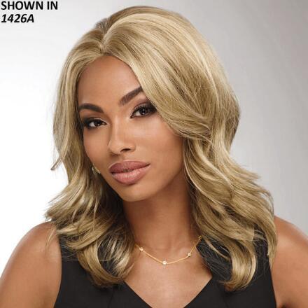 Monique Lace Front WhisperLite® Wig by Donna Vinci Collection