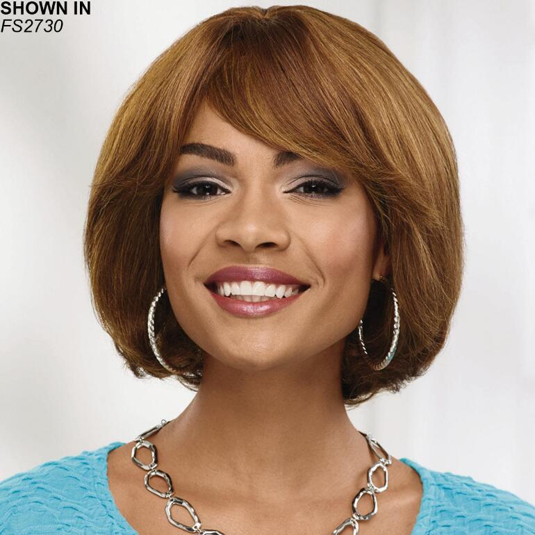 Penny Human Hair Wet 'n' Wavy Wig by Especially Yours®